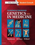 کتاب Thompson & Thompson Genetics in Medicine - ویرایش هشتم (2016)
